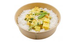 Gelbes Thai Curry mit Tofu - vegan