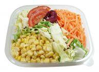 Rüebli und Mais Salat