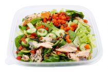 Pulled Salmon Salat