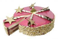 Schoggi-Himbeer-Limetten Torte