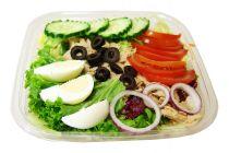 Thon m. Grünem Salat
